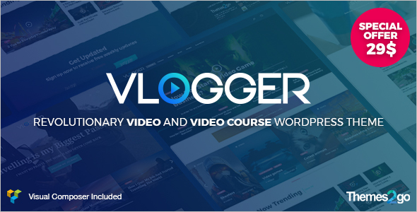 Professional Video WordPress Theme