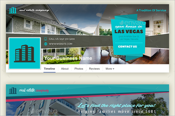 Real Estate Company Facebook Cover