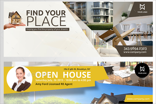Real Estate House Facebook Cover
