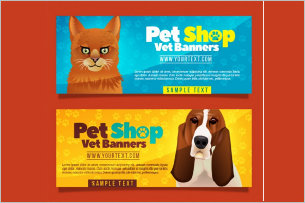 Realistic Pet care Design