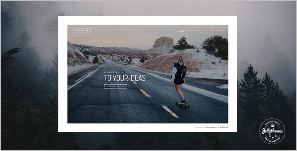 Rebirth Freelance WordPress Theme