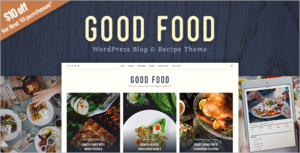 Recipe Magazine WordPress Theme