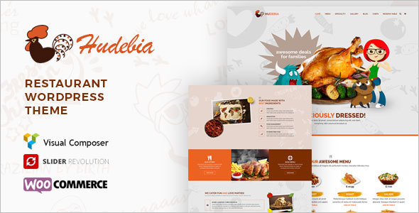 Responsive Chef WordPress Theme