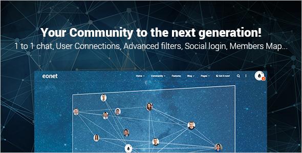 Responsive Community WordPress Theme