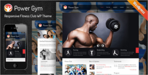 Responsive Gym WordPress Theme