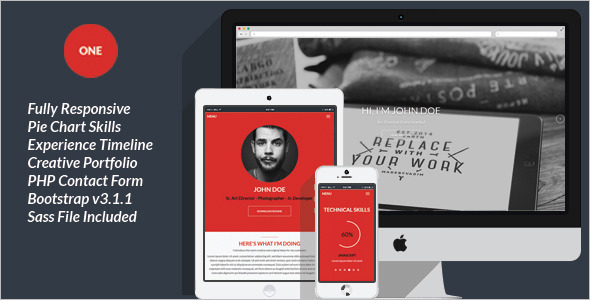 Responsive-Personal-PHP-Theme