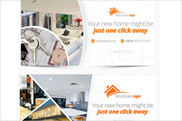 Responsive Real Estate Facebook Cover