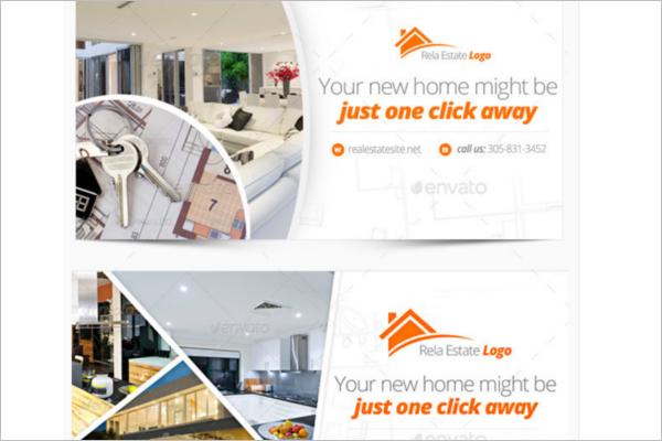 Responsive Real Estate Facebook Cover
