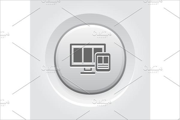 Responsive Web Button Template