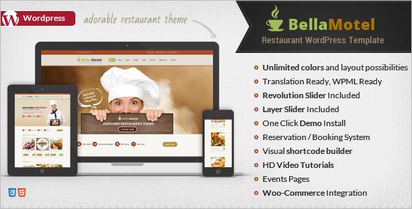 Restaurant Cooking Recipe WordPress Theme