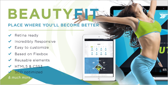 Retail Fitness HTML5 Template