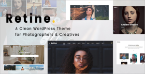 Retine WordPress Theme for Photographers