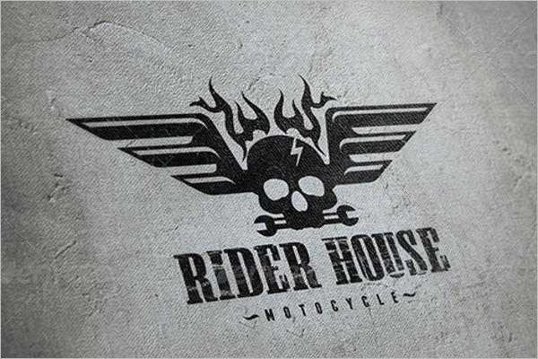 Rider House Logo Design