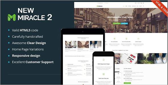 SEO HTML Agency Template