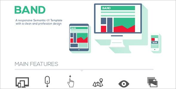 SEO HTML Brand Template