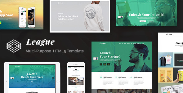 SEO HTML PHP Template