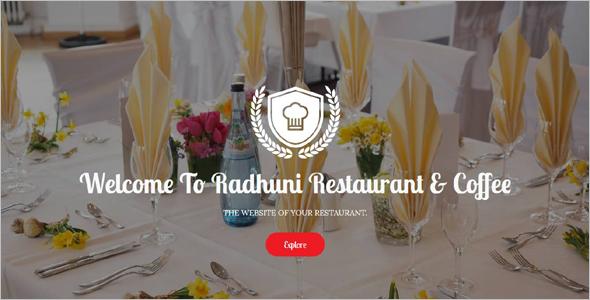 SEO HTML Restaurant Template