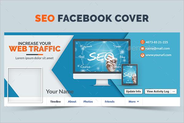 SEO Marketing Facebook Cover