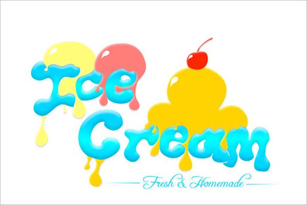Sample Ice Cream Banner Design