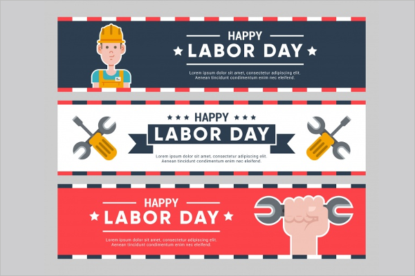 Sample Labor Day Banner Template