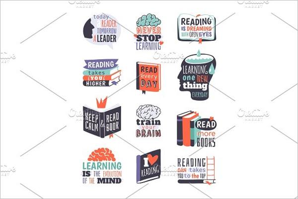 School Badges Vector Design