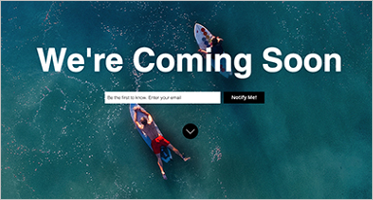 Simple Coming Soon HTML Templates