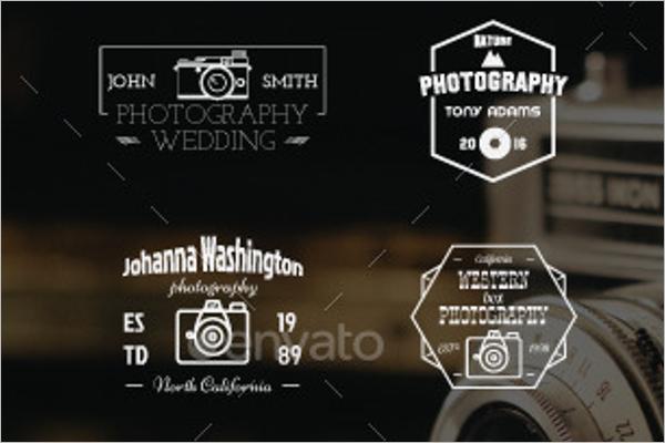 Simple Photography Logo Badge