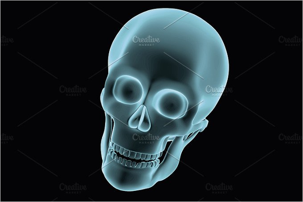 Simple Skull Vector Design