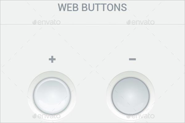 Simple Web Button Template
