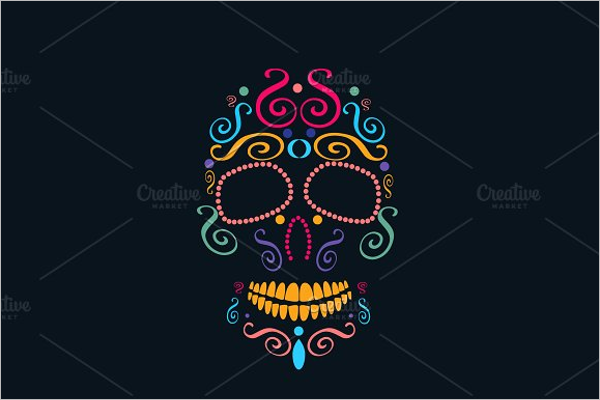 Skull Vector Tattoos Design