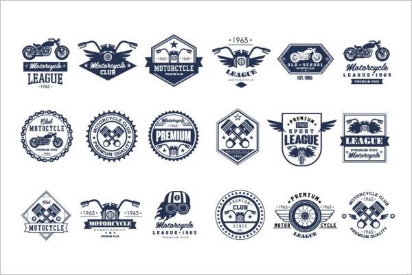 Smiple Ride Badge Template