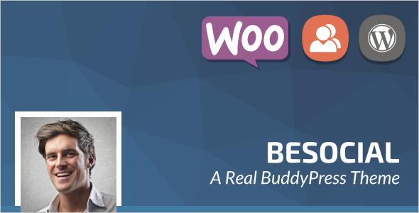 Social Network BuddyPress Theme