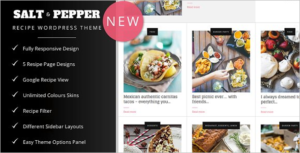 Spicy Food WordPress Theme