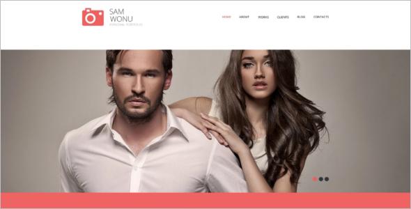 Standard Photographer WordPress Theme