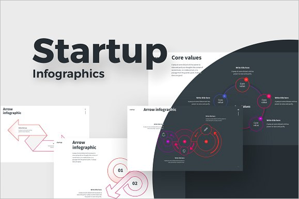 Startup Infographic Design Template