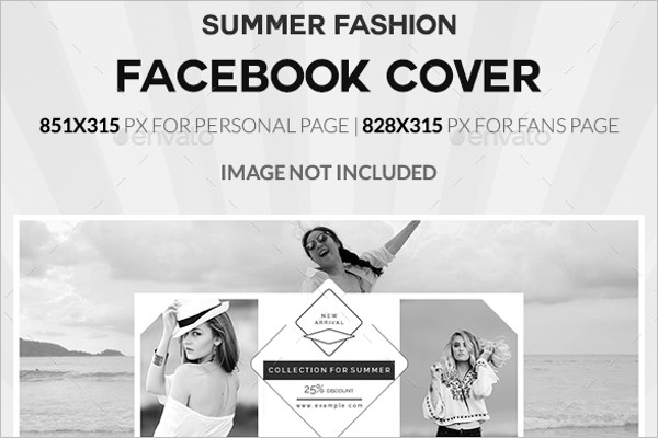 Summer Fashion Facebook Cover