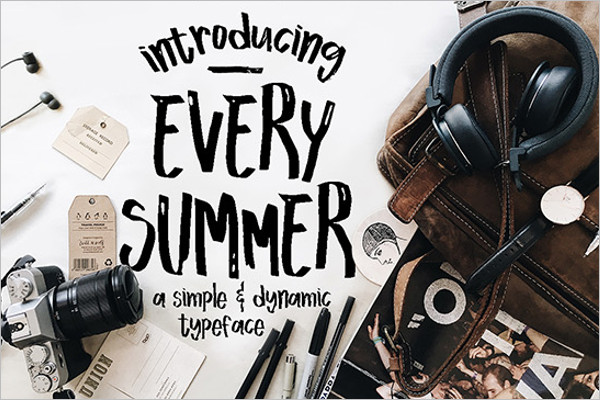 Summer Logo Font Design