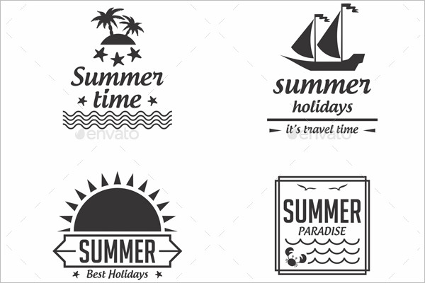 Summer Time Logo Design