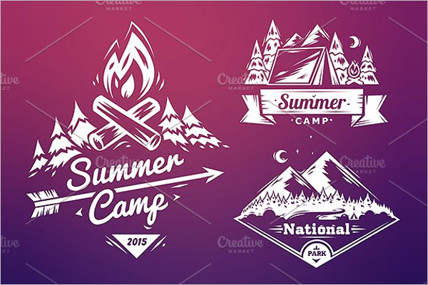 Summer camp Logo Design