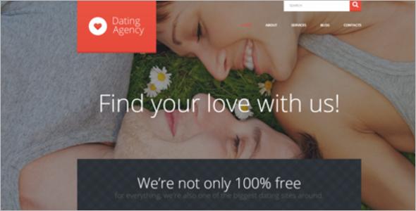 Sweet Date WordPress Theme