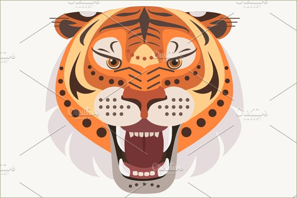 Tiger Tattoo Graphic Design