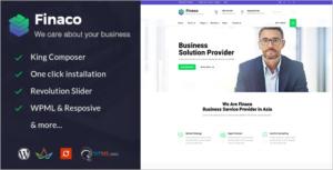 Training Consulting Business WordPress Theme