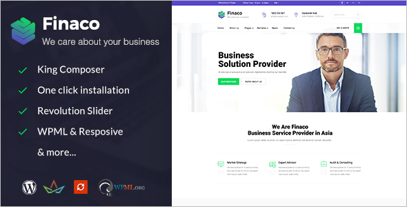 Training Consulting Business WordPress Theme