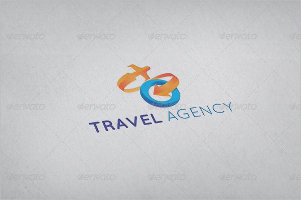 Travel Agency Logo Vector Design