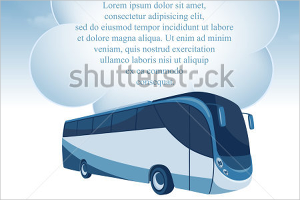 Travel Bus Illustration Vector
