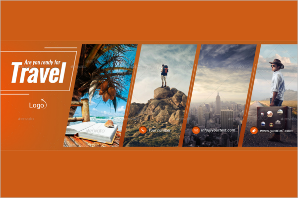 Travel Facebook Cover Marketing Template