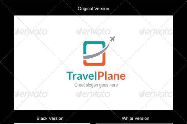 Travel Plane Logo Design
