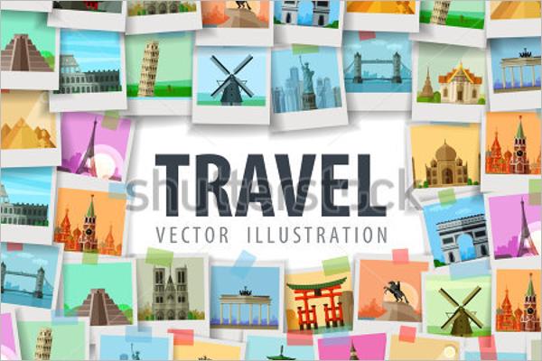 Travel Vector Logo Design