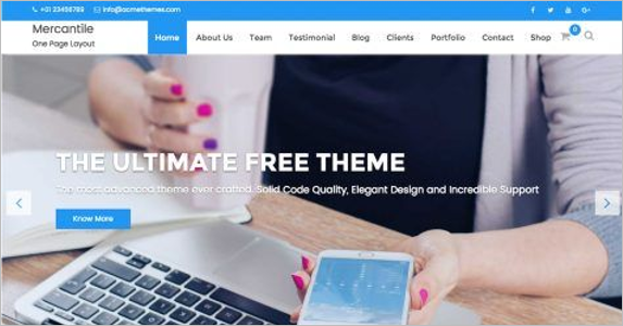 Ultimate Landing Page Theme