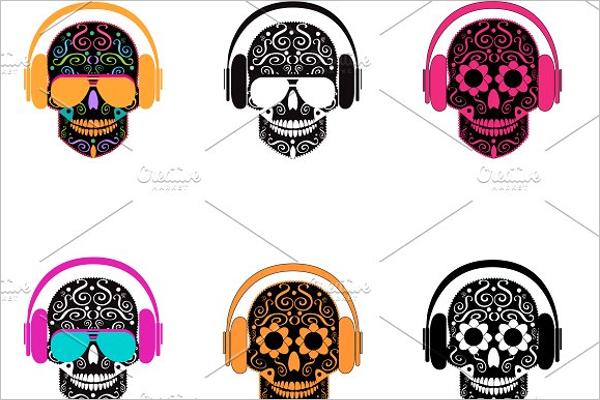 Unique Skull Tattoos Design